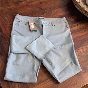 PrAna NWT light gray jeans